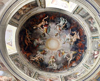 Ceiling details of Vatican museums Royalty Free Stock Images