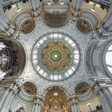 Ceiling and dome of Berlin Cathedral, Germany Royalty Free Stock Image