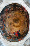 Ceiling in a dome of the Cathedral of Pisa. Stock Images