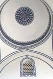 Mosque ceiling dome Stock Photos