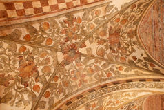The ceiling dressing in Palazzo della Ragione in Padua. Stock Images