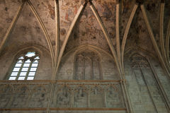 Ceiling of an early Gothic church Royalty Free Stock Photos