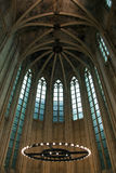 Ceiling of an early Gothic church Royalty Free Stock Photography
