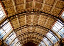 Ceiling Of The Entranceway At The Natural History Museum Stock Photo