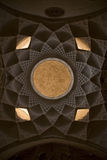 Ceiling in esfahan isfahan iran. Ceiling in traditional house esfahan isfahan iran Stock Photography