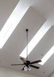 Ceiling Fan and Skylights Stock Photos