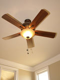 Ceiling Fan with window 2 Royalty Free Stock Photography