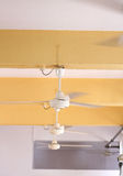 Ceiling fans. To cool room royalty free stock image