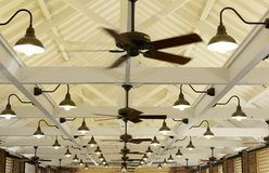 Ceiling Fans and Light Royalty Free Stock Photos