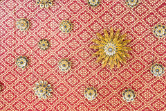 Ceiling floral motifs Stock Photography