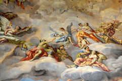 Ceiling fresco Royalty Free Stock Photography