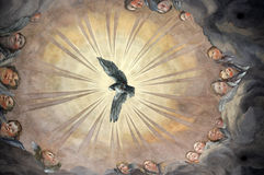 Ceiling fresco Royalty Free Stock Images