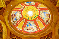 Ceiling frescoes Stock Photos