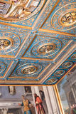 Ceiling of Gallerie dell`Accademia in Venice. VENICE, ITALY - MARCH 30, 2017: ceiling of Gallerie dell`Accademia in Venice. The museum gallery exhibits pre-19th Stock Images