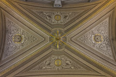 Ceiling the Gallery of the Candelabra Royalty Free Stock Photos