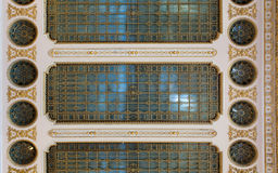 Ceiling with glass Stock Image
