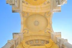 Ceiling of Gloriette in Schonbrunn, Vienna, Austria. The ceiling of Gloriette in Schonbrunn, Vienna, Austria Royalty Free Stock Image