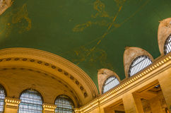 Ceiling of Grand Central Terminal Royalty Free Stock Images