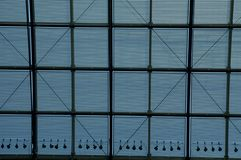 Ceiling grid Royalty Free Stock Image