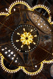 Ceiling of Hagia Sophia, Istanbul. A mystic view of the ceiling of the Hagia Sophia in Istanbul, Turkey stock photography