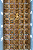 Ceiling in hall of the Cathedral of Pisa Stock Image