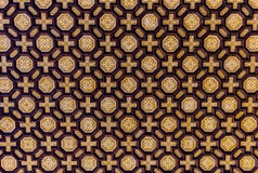 The ceiling of the hall Plaza de Espana in Seville, Spain Stock Photos