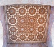 Ceiling in the Hassan II Mosque in Casablanca, Morocco Stock Photo