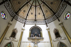Ceiling of Holy Rosary Church Royalty Free Stock Photography