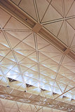 Ceiling of Hong Kong International Airport Stock Photos