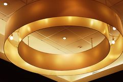 Ceiling in hotel Royalty Free Stock Photo