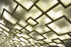 Ceiling illumination Stock Image