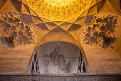 Ceiling of Imam mosque Royalty Free Stock Photography