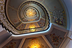Free Ceiling In National Museum Of Art Nouveau In Riga Stock Photo - 68874640