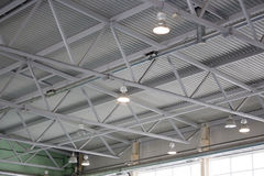 The ceiling of the indoor gym Stock Images