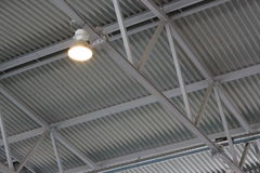The ceiling of the indoor gym Royalty Free Stock Image