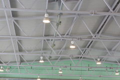 The ceiling of the indoor gym Royalty Free Stock Images