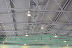 The ceiling of the indoor gym Royalty Free Stock Photography