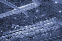 Ceiling of industrial building. Stock Photography