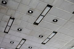 The ceiling in the industrial building Stock Photo