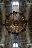 Ceiling inside Holy Trinity Alexander Nevsky Lavra, church in Saint Petersburg, Russia Stock Photo