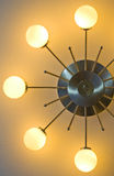 Ceiling lamp. Hanging on a ceiling Stock Photos