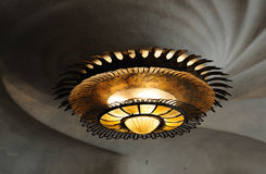Ceiling Lamp in Casa Batilo, Barcelona Royalty Free Stock Photo