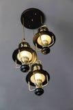 Ceiling lamp decoration Stock Photos