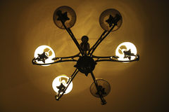 Ceiling lamp Stock Images