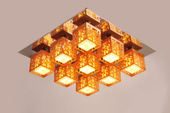 Ceiling lamp light Stock Photography