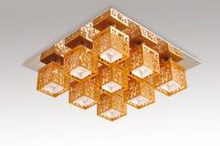 Ceiling lamp light Stock Image