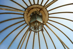 Ceiling. Of lamp in roof Royalty Free Stock Photos