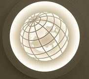 A CEILING LAMP IN SALE Royalty Free Stock Images