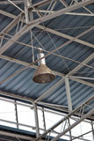 Ceiling lamp and structure Royalty Free Stock Image