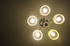 Ceiling lamp Stock Photos